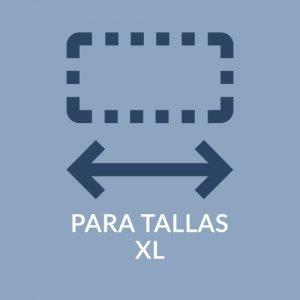 PARA TALLAS XL + 120 KG