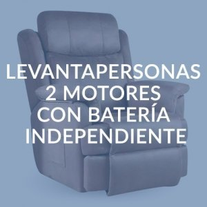 LEVANTAPERSONAS 2 MOTORES CON BATERÍA INDEPENDIENTE