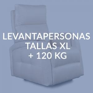 LEVANTAPERSONAS PARA TALLAS XL + 120 KG